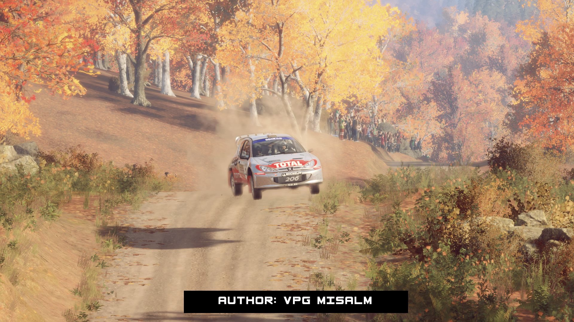 Gameplay from Dirt 2.0 game by Codemasters